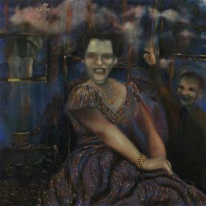 Beechcraft, 72 x 72 in., oil on canvas, 2010