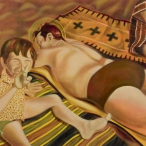 Jane, 2005, huile sur toile, 36 x 48 in,