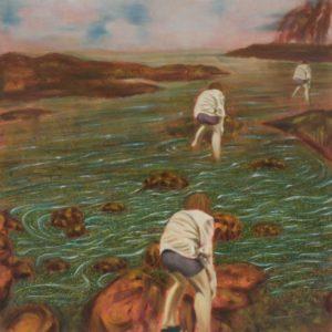 Longbeach 2 , 42 x 42 in., Oil on Canvas, 2007