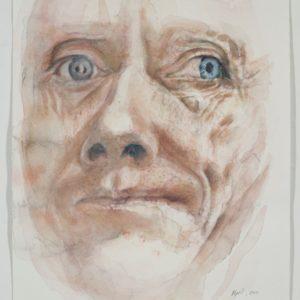 portrait, watercolour on paper, 9x12, April 2011