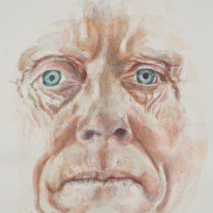 portrait, watercolour on paper, 9x12 in., Jan 2012