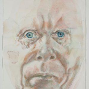 portrait, watercolour on paper, 9x12 in, Mar 2012