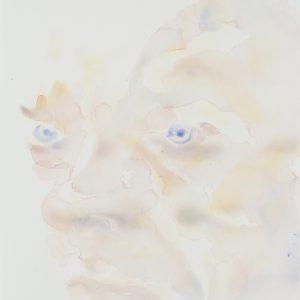Portrait, Watercolour on paper, 9x12in, Aug 2016