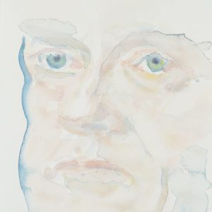 Portrait, Watercolour on paper, 9x12in, Jan 2016