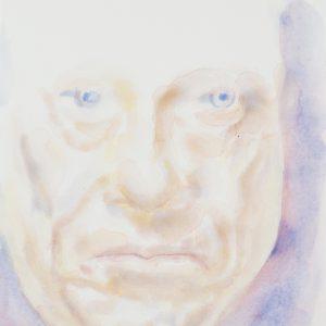 Portrait, watercolour on paper, 9x12in, Feb 2019