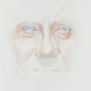Portrait, Watercolour on paper, 9x12in, Nov 2017