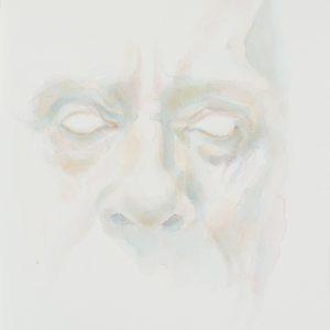 Portrait, watercolour on paper, 9x12in, Dec 2017